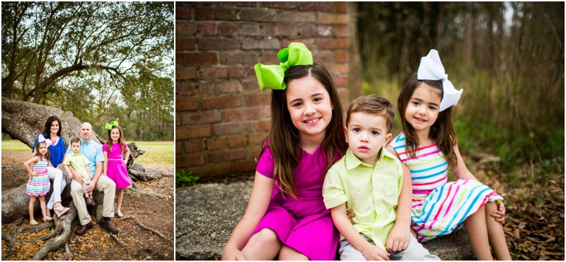 Slidell Family Photographer, Camp Salmen Nature Park, Covington Family Photographer