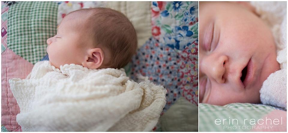 New Orleans Lifestyle Newborn Photographer