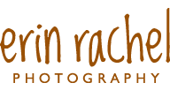 Senior and Family Lifestyle Photographer: Erin Rachel Photography logo